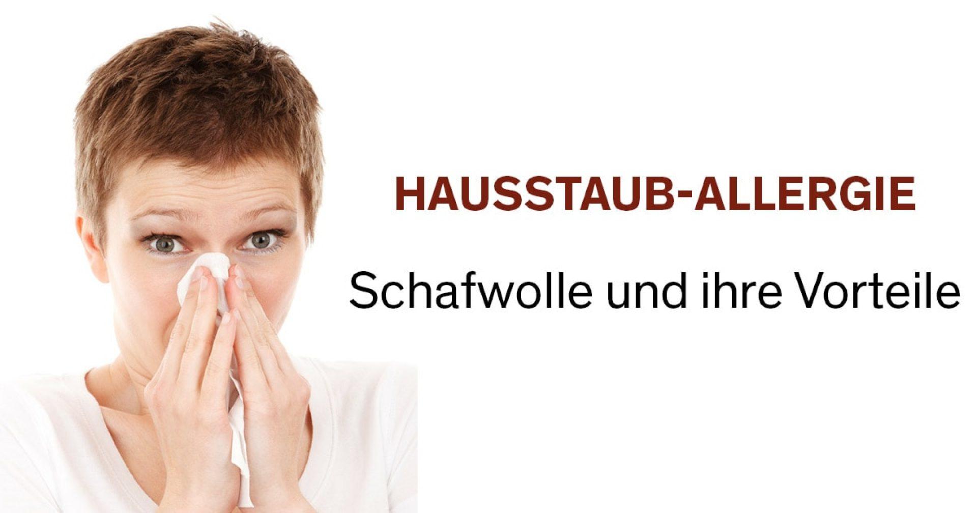Allergiker und Wolle