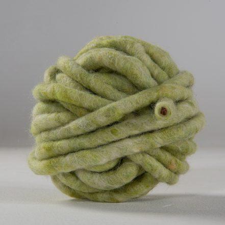 Wollgarn Lime